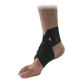 Omtex Ankle Support,  Black  Free Size