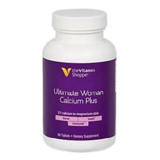 The Vitamin Shoppe Ultimate Woman Calcium Plus