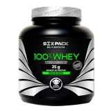 Six Pack Nutrition 100% Whey,  2.2 lb  Choco Delight