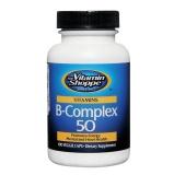 The Vitamin Shoppe Vitamin B-Complex 50,  Unflavoured  100 Veggie Capsule(s)