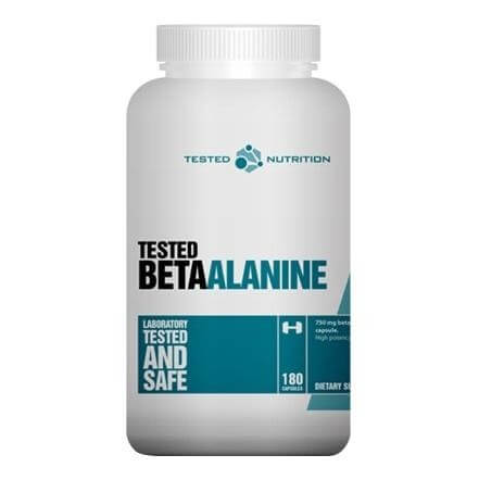 Tested Nutrition Beta Alanine,  180 capsules  Unflavoured