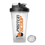 Protein Scoop Shaker,  White  600 Ml