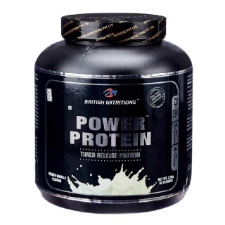 British Nutritions Power Protein,  5.5 lb  French Vanilla
