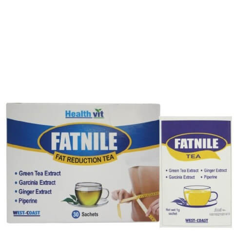Healthvit Fatnile Fat Reduction Tea,  30 Piece(s)/Pack  Natural