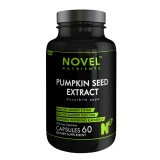 Novel Nutrients Pumpkin Seed Extract (400mg),  60 Capsules