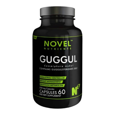Novel Nutrients Guggul (500mg),  60 capsules