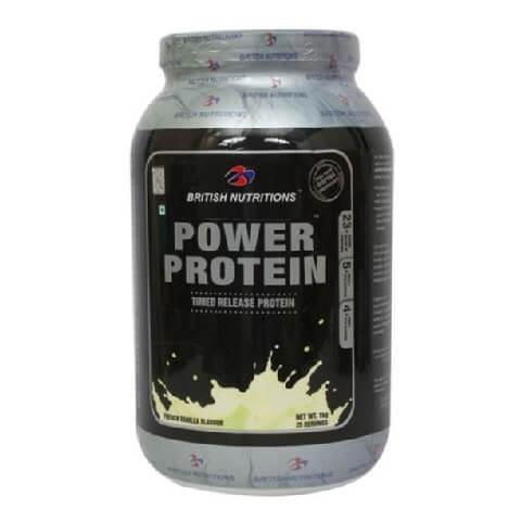 British Nutritions Power Protein,  2.2 lb  Vanilla