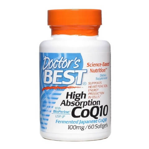 Doctor's Best High Absorption CoQ10 (100mg),  60 softgels