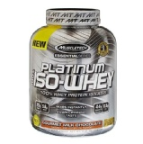 MuscleTech Platinum 100% Iso Whey,  3.34 Lb  Chocolate