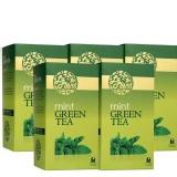 Laplant Green Tea & Mint,  25 Piece(s)/Pack  Mint (Pack Of 5)