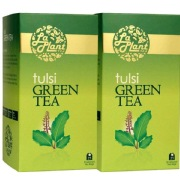 Laplant Tulsi Green Tea,  25 Piece(s)/Pack  Tulsi(Pack of 2)