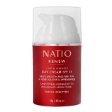 Natio Natio Renew Line & Wrinkle Day Cream,  50 G  SPF 15