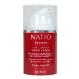 Natio Renew Line & Wrinkle Night Cream,  50 G  Moisturise