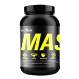 Nutech Nutritions Mass Gainer,  Chocolate  10 Lb