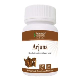 Bhumija Arjuna,  60 capsules