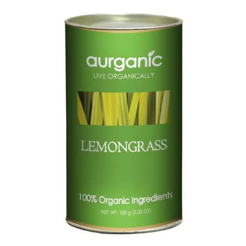 Aurganic Lemongrass Tea (Pack of 3),  Natural  100 g