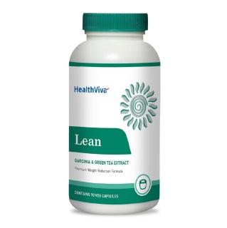 HealthViva Lean (Garcinia & Green Tea Extract),  90 veggie capsule(s)  Unflavoured