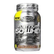 MuscleTech Platinum 100% Iso Whey,  1.79 lb  Gourmet Milk Chocolate