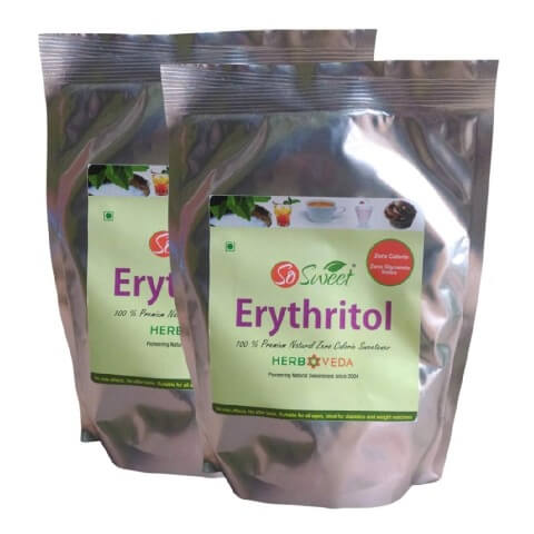So Sweet Erythritol,  0.5 kg  Unflavoured