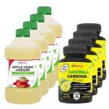 St.Botanica Apple Cider Vinegar +  Garcinia Cambogia Ulta Formula,  8 Piece(s)/Pack  Unflavoured