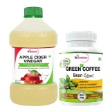 St.Botanica Apple Cider Vinegar + Green Coffee Bean Extract,  2 Piece(s)/Pack  Unflavoured