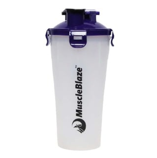 MuscleBlaze Hydra Shaker,  Blue Cap  600 ml