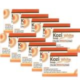 Kozi White The Skin Whitening Soap (Pack Of 10),  75 G  Anti-Ageing