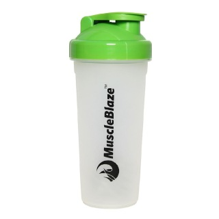 MuscleBlaze Shaker,  Green  600 ml