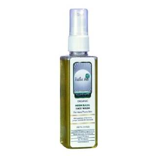 Rustic Art Neem Basil Face Wash,  100 Ml  For Acne Prone Skin