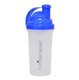 Natures Velvet Shaker,  White & Blue  600 ml