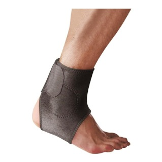 B Fit USA Magnetic Ankle Support (AB6303),  Black  Free Size