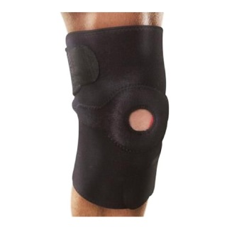 B Fit USA Magnetic Knee Support (AB6302),  Black  Free Size