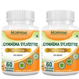 Morpheme Remedies Garcinia Cambogia (500 Mg) (Pack Of 2),  60 Veggie Capsule(s)