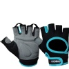 KOBO Gym Gloves (WTG-03),  Blue & Black  XL