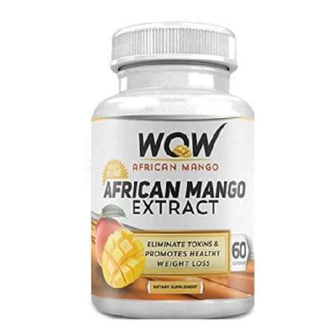 WOW African Mango,  60 capsules