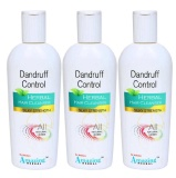 Dr. Raksha's Dandruff Control Hair Cleanser (Pack Of 3),  200 Ml  Anti Dandruff