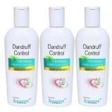 Dr. Raksha's Dandruff Control Hair Cleanser (Pack Of 3),  200 Ml  Anti Dandruff