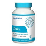 HealthViva Daily (Multivitamin with Ginseng),  Unflavoured  60 capsules
