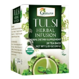 Grenera Tulsi Herbal Infusion,  Tulsi  20 Piece(s)/Pack