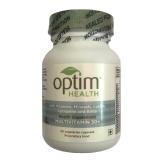 OptimHealth Multivitamin 50+ Health Supplement,  Unflavoured  30 Veggie Capsule(s)