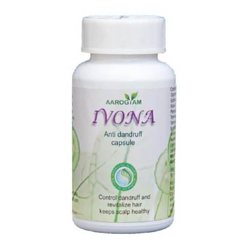 Aarogyam Ivona Anti Dandruff Capsule,  60 capsules
