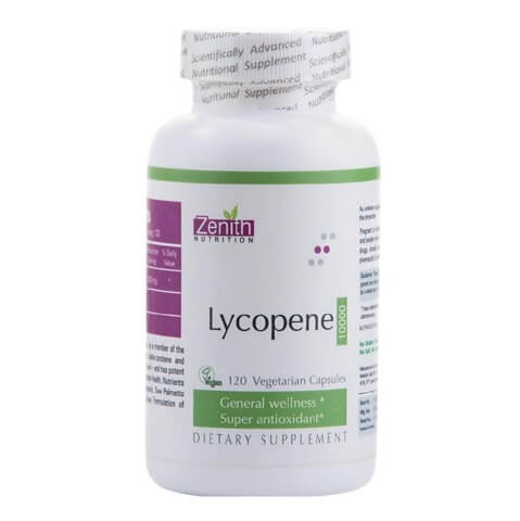 Zenith Nutrition Lycopene -10000,  120 capsules