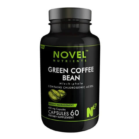 Novel Nutrients Green Coffee Bean (400 mg),  60 capsules