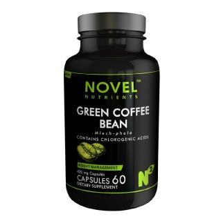 Novel Nutrients Green Coffee Bean (400 mg),  60 capsules