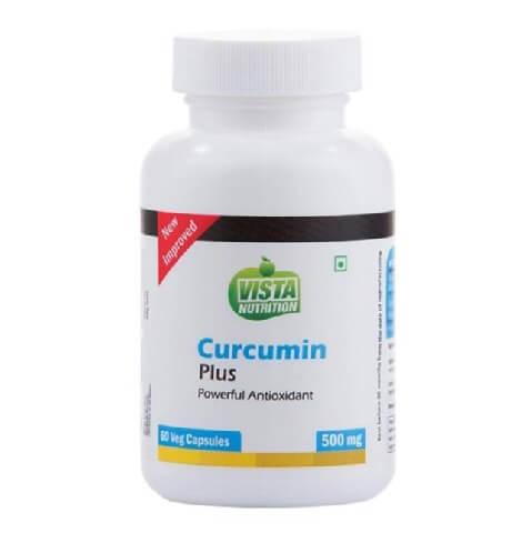 Vista Nutrition Curcumin Plus (500 mg),  60 veggie capsule(s)