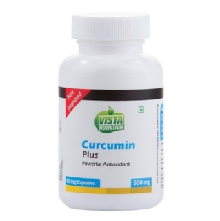 Vista Nutrition Curcumin Plus (500 mg),  60 veggie capsule(s)