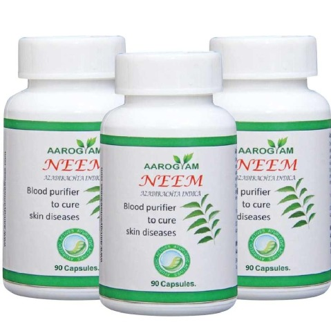 Aarogyam Neem,  90 capsules  - Pack of 3