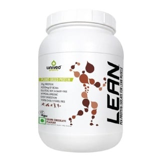 Unived Lean Pea Protein Isolate,  3.77 Lb  Ghana Chocolate