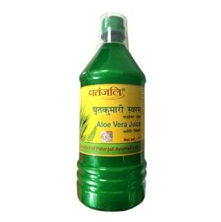 Patanjali Aloe Vera Juice,  with Fiber  1 L