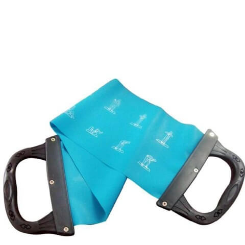 B Fit USA Pilates Band (AB3203),  Black & Blue  200 g